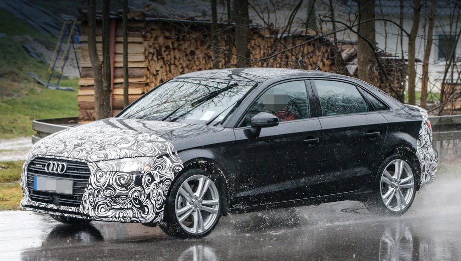2016 Audi A3 Sedan Facelift Spied For The First Time