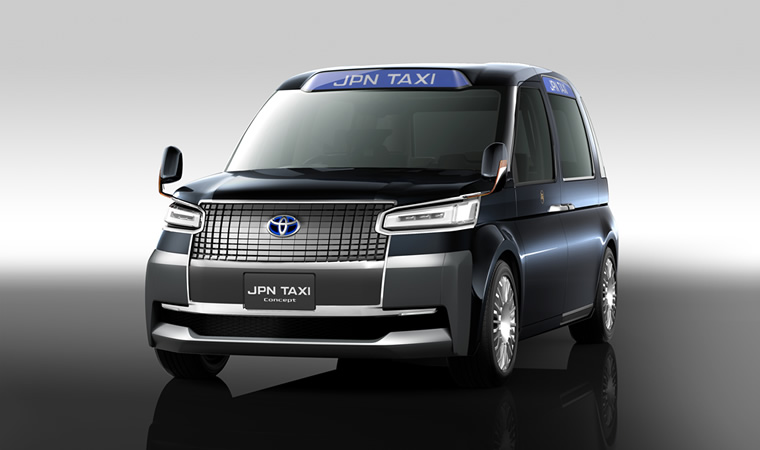 Toyota Showing Updated Jpn Taxi Concept For Tokyo