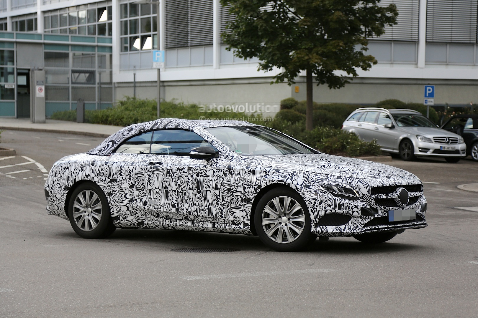 2016 Mercedes Benz C Class Cabriolet Spy Photos