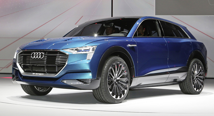 Audi Says The Q6 E Tron Is Good To Go For 2018 Release