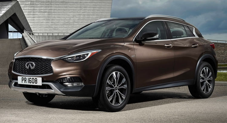 Infiniti Qx30 Crossover Official Release