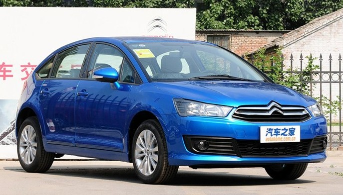 New Citroen C4 Launched On The Chine