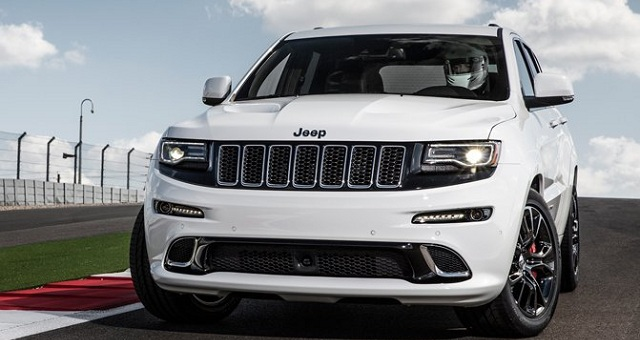Refreshed 2017 Jeep Grand Cherokee Spied
