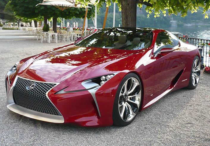 The Lexus Lf Lc Concept Will Transform Into The Lc 500 For The 2016 Detroit Motor Show