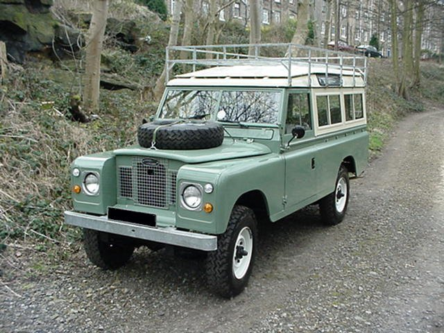 Land Rover 109 Series Ii