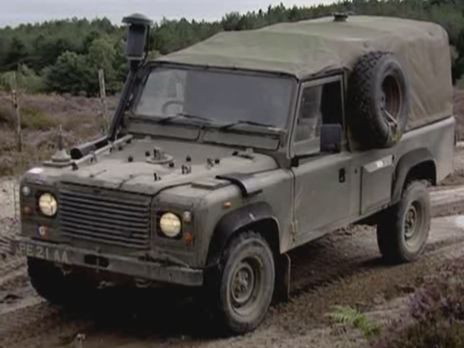 Land Rover 110 Xd Defender Wolf