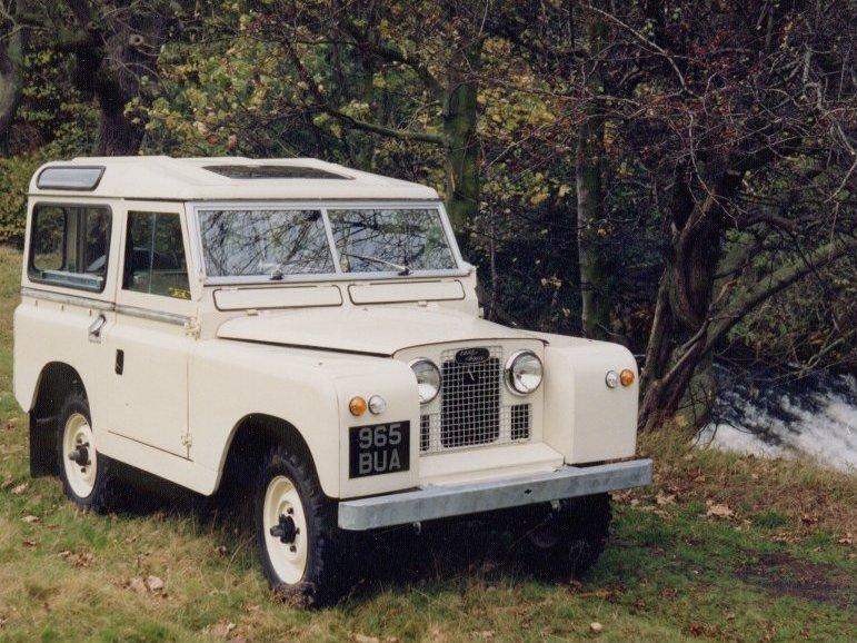 Land Rover 86 Series Ii